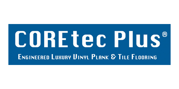 Coretec Plus LVT Logo with Pure White Background