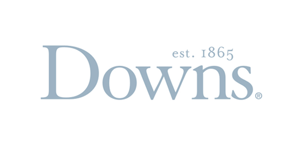 Downs Carpet Logo with Pure White Background
